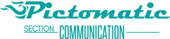 Pictomatic Section Communication logo